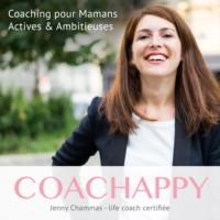 Logo du podcast Coachappy - pour les femmes et mamans ambitieuses