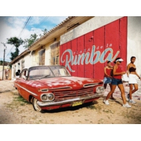 "Logo du podcast Latin Music:""PLAZA de la RUMBA"" by CHICO"