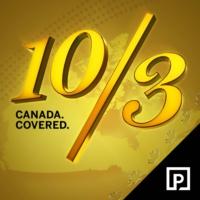 Logo du podcast 10/3: Canada Covered