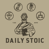 Logo of the podcast The Daily Stoic