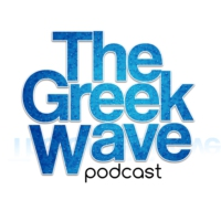 Logo of the podcast THE GREEK WAVE