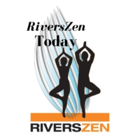 Logo of the podcast RiversZen Today, the weekend edition for Saturday and Sunday, December 23rd and 24th, 2017