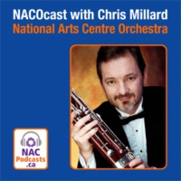 Logo du podcast NACOcast LIVE! The Violin and The Voice