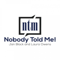 Logo of the podcast Nobody Told Me!