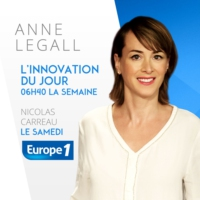 Logo of the podcast Europe1 - L'innovation du jour