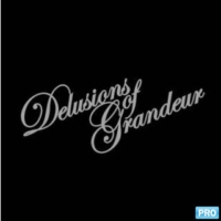 Logo of the podcast Delusions Of Grandeur Podcast September 2015 hosted by Norm De Plume