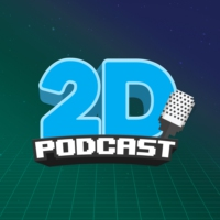 Logo of the podcast 2D PODCAST