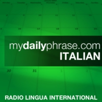 Logo of the podcast My Daily Phrase Italian - Promo