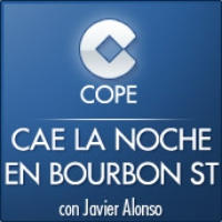 Logo of the podcast Cadena COPE - Podcast de Cae la Noche sobre Bourbon Street
