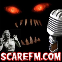 "Logo du podcast SCARE FM - ""OLD TIME RADIO"""