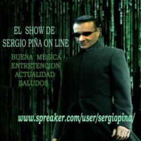 Logo of the podcast El show de Sergio Piña