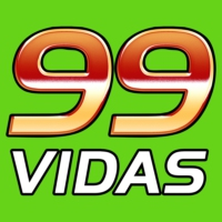 Logo du podcast 99Vidas 315 - 4x4: F-Zero, Sonic Wings, Animaniacs e True Lies