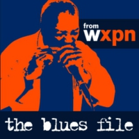 Logo of the podcast The Blues File from WXPN