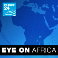 Logo of the podcast Kenyan opposition leader Raila Odinga speaks to France24