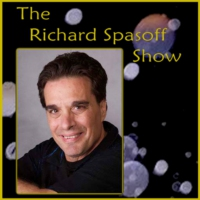 Logo du podcast The Richard Spasoff Show Ep 47 with horror genre icon Michael Berryman and Kenneth Fetzer