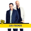 Logo of the podcast 105 Friends