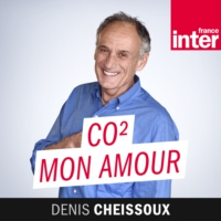 "Logo du podcast ""CO2 mon amour"" en direct et en public du Salon du livre de Radio France !"