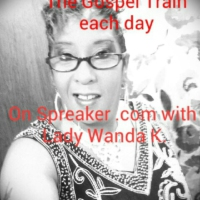 Logo of the podcast The Gospel Train with Lady Wanda K.