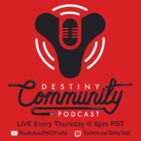 Logo of the podcast Destiny Community Podcast: Episode 2 - 99 Problems, but IB drops ain't 1 (ft. Triplewreck)