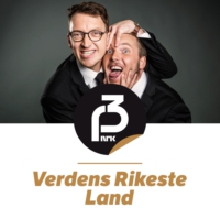 Logo of the podcast «Vi er på et kontinent!»