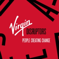 Logo of the podcast Virgin Disruptors Podcast