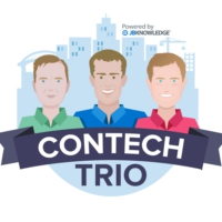 Logo of the podcast @ConTechTrio Episode 38 - Steve Polich from @SafetyReports1 Safety-Reports Talking Safety Managemen…