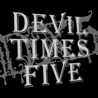 Logo of the podcast Devil Times Five horror podcast