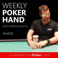 Logo du podcast Weekly Poker Hand with Jonathan Little