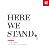 Logo of the podcast Here We Stand