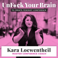 Logo of the podcast UnF*ck Your Brain to Create Feminist Confidence