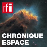Logo of the podcast «First Light», le premier magazine numérique d'astronomie