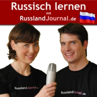 Logo of the podcast Russisch lernen mit RusslandJournal.de
