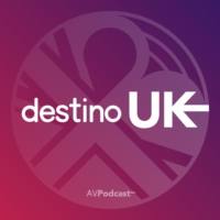 Logo du podcast Destino UK by @madrillano