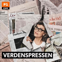 Logo du podcast Verdenspressen: Hip hurra for Europa - eller hvad?