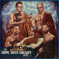 Logo of the podcast Tim And Andy's London Stories! - The GameOverGreggy Show. Ep 251