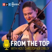 Logo of the podcast Violinist Tessa Lark and Bassist Michael Thurber Co-Host From the Top