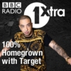 Logo of the podcast BBC Radio 1xtra - 100% Homegrown with Target