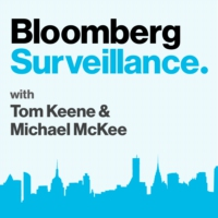 Logo of the podcast Surveillance: Trumponomics Not Unlike Mussolini, Posen Says