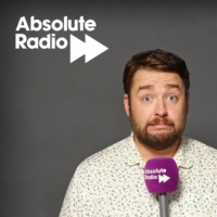 Logo of the podcast The Jason Manford Show: Live in the staff canteen