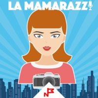 Logo of the podcast La Mamarazzi