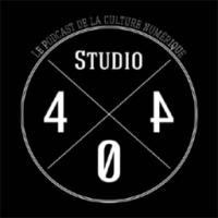 Logo of the podcast Studio404 - Novembre  - gamers reacs, old, selfie, telechargements