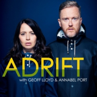 Logo of the podcast Adrift with Geoff Lloyd and Annabel Port