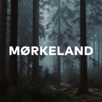 Logo of the podcast Mørkeland