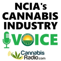 Logo of the podcast NCIA Cannabis Industry Voice