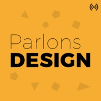 Logo of the podcast Parlons Design se déplace !