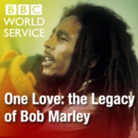 Logo of the podcast One Love: the Legacy of Bob Marley