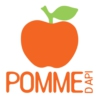 Logo of the podcast Pomme d'Api, 24 histoires pour Noël