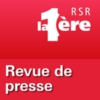 Logo of the podcast RSR - Revue de presse - La 1ère