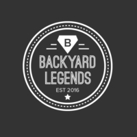 "Logo of the podcast Backyard Legends #6 - ""Hot Route!  Red 7!  Red 7!  Hot Route!"""