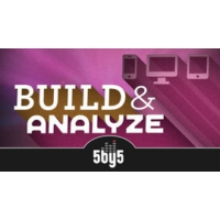 Logo of the podcast 5by5 - Build and Analyze